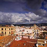 Ibiza Town Poster