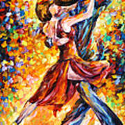 In The Rhythm Of Tango Poster