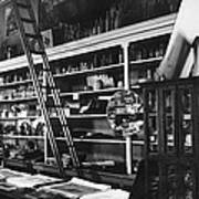 Interior The Old Store Pearce Mercantile Ghost Town Pearce Arizona 1971 Poster