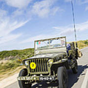 Jeep Willys Poster