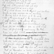 John Keats (1795-1821) Poster