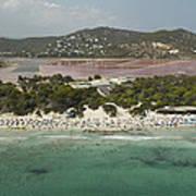 Las Salinas Beach, Ibiza Poster