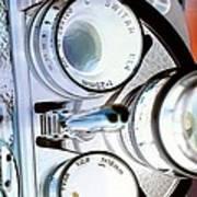 3 Lenses In Negative Poster