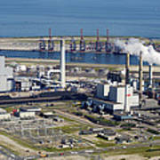 Maasvlakte, Europort, Rotterdam Poster