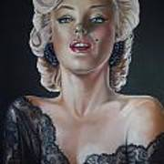Marilyn Monroe Poster by Leida  Nogueira