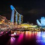 Marina  Bay Sands - Singapore Poster