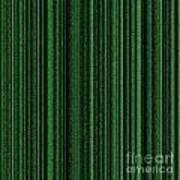 Matrix Green Poster