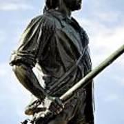 Minute Man Statue Concord Massachusetts Poster