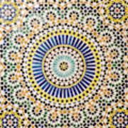 Morocco, Agdz, The Kasbah Of Telouet Poster
