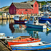 Motif Number One Rockport Lobster Shack Maritime Poster