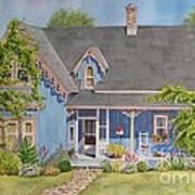 My Blue Heaven Poster by Mary Ellen Mueller Legault
