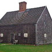 Nantucket's Oldest House Poster