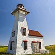 New London Range Rear Lighthouse Poster