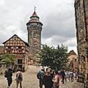 Nurnberg Germany Castle Poster