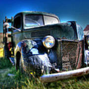 Old Truck At Bodie Poster
