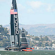 Oracle Team Usa Poster