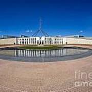 Parliament House Australia Poster