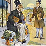 Patent Medicine Cartoon Poster