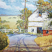 Peaceful In Pennsylvania Poster by Joyce Hicks