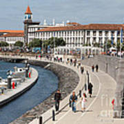 Ponta Delgada - Azores Poster