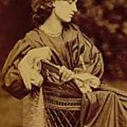 Portrait Of Jane Morris Poster