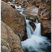 Poudre River Falls Fort Collins Poster
