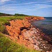 Prince Edward Island Coastline Poster