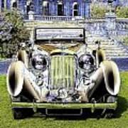 Psychedelic Classic Lagonda Poster