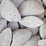 Pumice Lava Rocks Poster