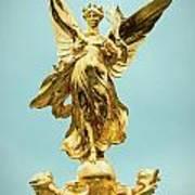 Queen Victoria Memorial In London Poster