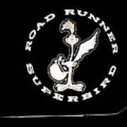 Road Runner Superbird Emblem Poster