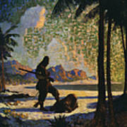 Robinson Crusoe, 1920 Poster