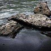 Rocks In The River Poster