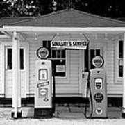 Route 66 - Soulsby Station Pumps Poster