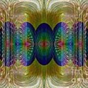 Salsify Abstract Poster