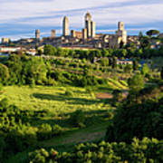 San Gimignano Poster