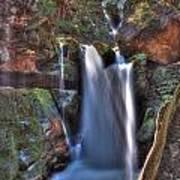 Scotish Waterfall Hdr Poster