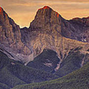 3 Sisters Canmore Alberta Poster