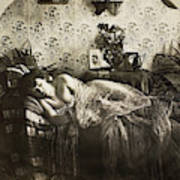 Sleeping Woman, C1900 Poster