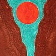 Slot Canyon Original Painting Poster