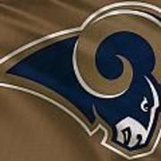 St Louis Rams Uniform Poster