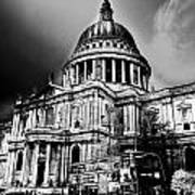 St Pauls Cathedral London Art Poster by David Pyatt
