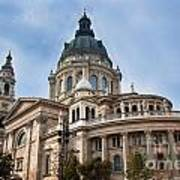 St. Stephen's Basilica In Budapest Poster