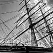 The Cutty Sark Greenwich Poster