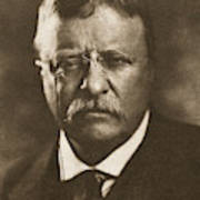 Theodore Roosevelt (1858-1919) Poster