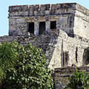 Tulum Ruins Mexico Poster