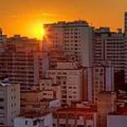 Twilight In Sao Paulo Poster