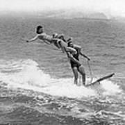 Aquaplaning Trio Falls Poster