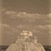 Uxmal Ruins Poster