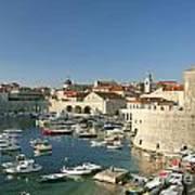 View Of Dubrovnik In Croatia Poster